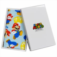 スーパーマリオ タオルギフト ボックス入りフェイスタオル SM-0105 nintendo 内祝い お返し キャラクター グッズ