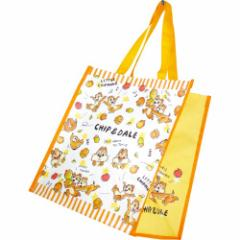 チップ&デール ショッピングバッグ キャラコレ ポリバッグ ディズニー 大容量かばん キャラクター グッズ