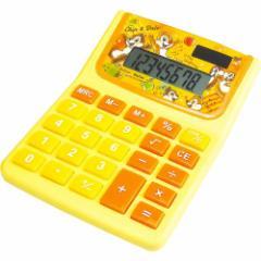 チップ&デール 計算機 電卓 ディズニー 新入学 新学期準備 キャラクター グッズ