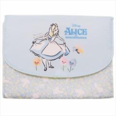 ふしぎの国のアリス 母子手帳ケース ジャバラマルチケース ディズニー 18×13×1.5cm キャラクター グッズ メール便可