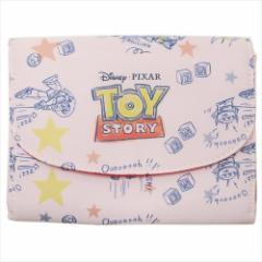 トイストーリー 母子手帳ケース ジャバラマルチケース ロゴ ディズニー 18×13×1.5cm キャラクター グッズ メール便可