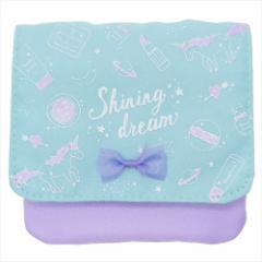 SHINING DREAM クリップポケット どこでもポッケ 2019年新入学 クリップポーチ ギフト雑貨 グッズ メール便可