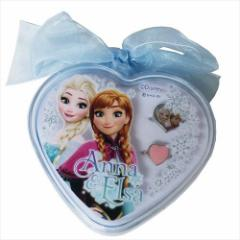アナと雪の女王 キッズアクセサリー リボン付きケース入りリング2本セット 2019SS ディズニー 女の子向け指輪 メール便可