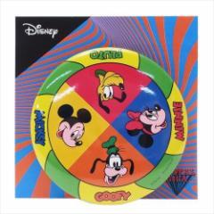 ミッキー&フレンズ 缶バッジ 75mmビッグカンバッジ ルーレット ディズニー コレクション雑貨 キャラクター グッズ メール便可