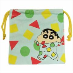 クレヨンしんちゃん 巾着袋 きんちゃくポーチ パジャマ 20×20cm キャラクター グッズ