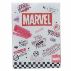MARVEL 下敷き デスクパッド ホワイト マーベル 新学期準備 雑貨 キャラクター グッズ メール便可