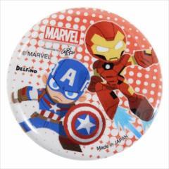 アイアンマン×キャプテンアメリカ 缶バッジ 56mmカンバッジ グルヒル マーベル コレクション雑貨 キャラクター グッズ メール便可