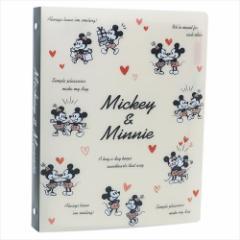 ミッキー&ミニー バインダー ルーズリーフセットバインダー 2018年新入学 ディズニー キャラクター グッズ