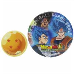 ドラゴンボール超 ブロリー 缶バッジセット 缶バッジ大小2個セット 集合 コレクション雑貨 アニメキャラクター グッズ メール便可