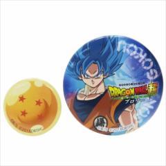 ドラゴンボール超 ブロリー 缶バッジセット 缶バッジ大小2個セット 悟空 コレクション雑貨 アニメキャラクター グッズ メール便可