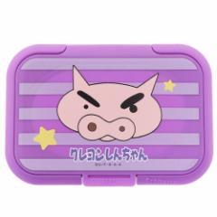 クレヨンしんちゃん ウェットシートのフタ Bitatto ビタット ぶりぶりざえもん 90×51mm以下 アニメキャラクター グッズ メール便可