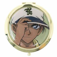 名探偵コナン 手鏡 Wコンパクトミラー 服部平次 直径7cm アニメキャラクター グッズ メール便可