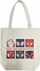 スパイダーマン トートバッグ キャンバストート スパイダーバース マーベル コレクション雑貨 キャラクター グッズ