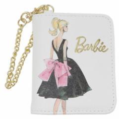 バービー 定期入れ&小銭入れ パスケース付きコインケース エレガントビューティーシリーズ PK Barbie ICカードケース メール便可
