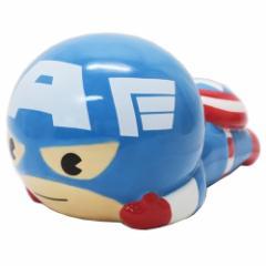 キャプテンアメリカ 貯金箱 セラミックフィギュアバンク KAWAIIシリーズ マーベル ギフトZAKKA キャラクター グッズ