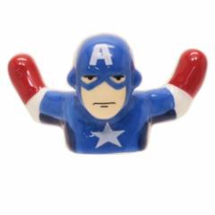 キャプテンアメリカ テーブルウェア 3D立体箸置き マーベル プチギフト キャラクター グッズ