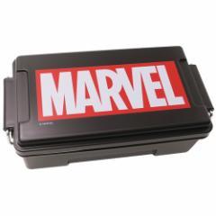 MARVEL お弁当箱 ふわっと メンズ コンテナ ランチボックス BOXロゴ ブラック マーベル 840ml キャラクター グッズ