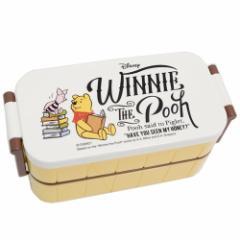 くまのプーさん お弁当箱 はし付き レディース 2段 ランチボックス リーディング ディズニー 300ml 300ml キャラクター グッズ