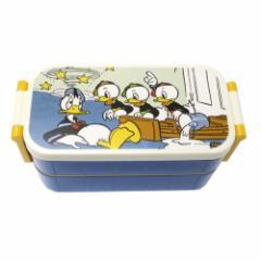 ドナルドダック お弁当箱 はし付き レディース 2段 ランチボックス コミック ディズニー 300ml 300ml キャラクター グッズ