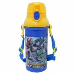 新幹線変形ロボ シンカリオン 水筒 直飲み プラ ワンタッチボトル 18 480ml キャラクター グッズ