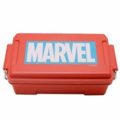 MARVEL お弁当箱 ふわっと コンテナ ランチボックス BOXロゴ レッド マーベル 500ml キャラクター グッズ