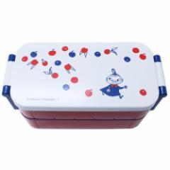 ムーミン お弁当箱 はし付き レディース 2段 ランチボックス リトルミイ トリコロール 北欧 300ml 300ml キャラクター グッズ