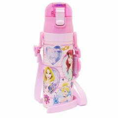 ディズニープリンセス 保冷専用 水筒 ワンプッシュ ステンレスボトル Princess 19 ディズニー 470ml キャラクター グッズ