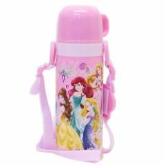 ディズニープリンセス 保温 保冷 水筒 2way ステンレスボトル Princess 19 ディズニー 470ml キャラクター グッズ