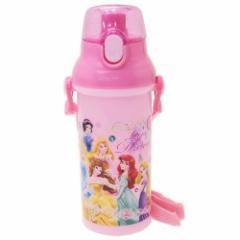 ディズニープリンセス 水筒 直飲み プラ ワンタッチボトル Princess 19 ディズニー 480ml キャラクター グッズ