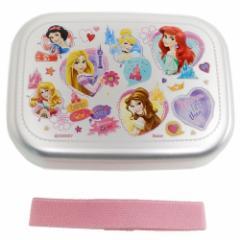 ディズニープリンセス お弁当箱 アルミ ランチボックス Princess 19 ディズニー 370ml キャラクター グッズ