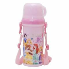 ディズニープリンセス 水筒 直飲み コップ付き プラボトル Princess 19 ディズニー 480ml キャラクター グッズ