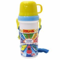 プラレール 水筒 直飲み コップ付き プラボトル 19 鉄道 480ml キャラクター グッズ
