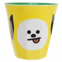 BT21 防弾少年団 メラミンカップ CHIMMY LINE FRIENDS 270ml キャラクター グッズ