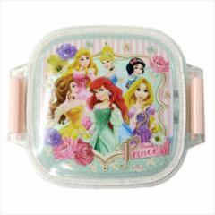 ディズニープリンセス デザートケース 食洗器対応ミニタイトランチ Princess 18 ディズニー 160ml キャラクター グッズ