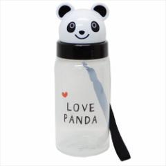 LOVE PANDA 水筒 ダイカットブローボトル パンダ 350ml ギフト雑貨 グッズ