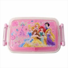 ディズニープリンセス お弁当箱 ふわっとフタ タイトランチボックス Princess 19 ディズニー 450ml キャラクター グッズ
