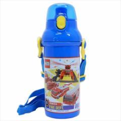 トミカ 水筒 直飲みプラワンタッチボトル TOMICA 19 480ml キャラクター グッズ