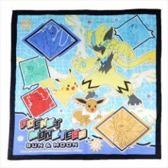 ポケットモンスター ランチクロス コットンナフキン サン&ムーン 19 ポケモン 43×43cm キャラクター グッズ メール便可