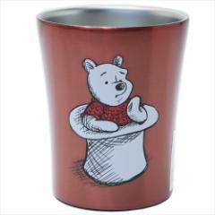 くまのプーさん 保温保冷コップ 真空ステンレスタンブラー ロンドン ディズニー 250ml キャラクター グッズ