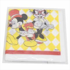 ミッキーマウス 紙ナフキン デザインペーパー12枚セット カーニバル ディズニー 32×32cm キャラクター グッズ メール便可