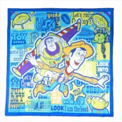 トイストーリー ランチクロス コットンナフキン TOY STORY 19 ディズニー 43×43cm キャラクター グッズ メール便可