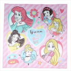 ディズニープリンセス ランチクロス コットンナフキン Princess 19 ディズニー 43×43cm キャラクター グッズ メール便可