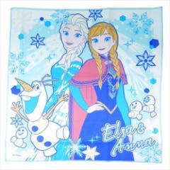 アナと雪の女王 ランチクロス コットンナフキン 19 ディズニー 43×43cm キャラクター グッズ メール便可