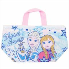 アナと雪の女王 ランチ巾着 お弁当きんちゃくバッグ 19 ディズニー 29×16.5×12cm キャラクター グッズ メール便可