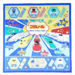 プラレール ランチクロス コットンナフキン 19 鉄道 43×43cm キャラクター グッズ メール便可