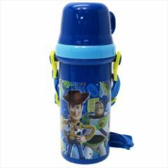 トイストーリー 水筒 直飲みコップ付きプラボトル TOY STORY 19 ディズニー 480ml キャラクター グッズ
