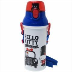 ハローキティ 水筒 直飲みプラワンタッチボトル ロンドン サンリオ 480ml キャラクター グッズ