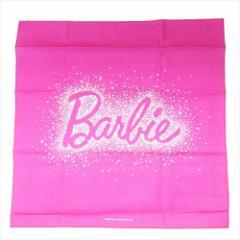 バービー ランチクロス コットンナフキン Barbie 19 43×43cm キャラクター グッズ メール便可