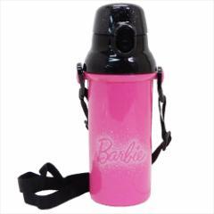 バービー 水筒 直飲みプラワンタッチボトル Barbie 19 480ml キャラクター グッズ