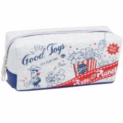 トイストーリー ペンポーチ BOX ペンケース ロゴリボン ディズニー 新学期準備 雑貨 キャラクター グッズ